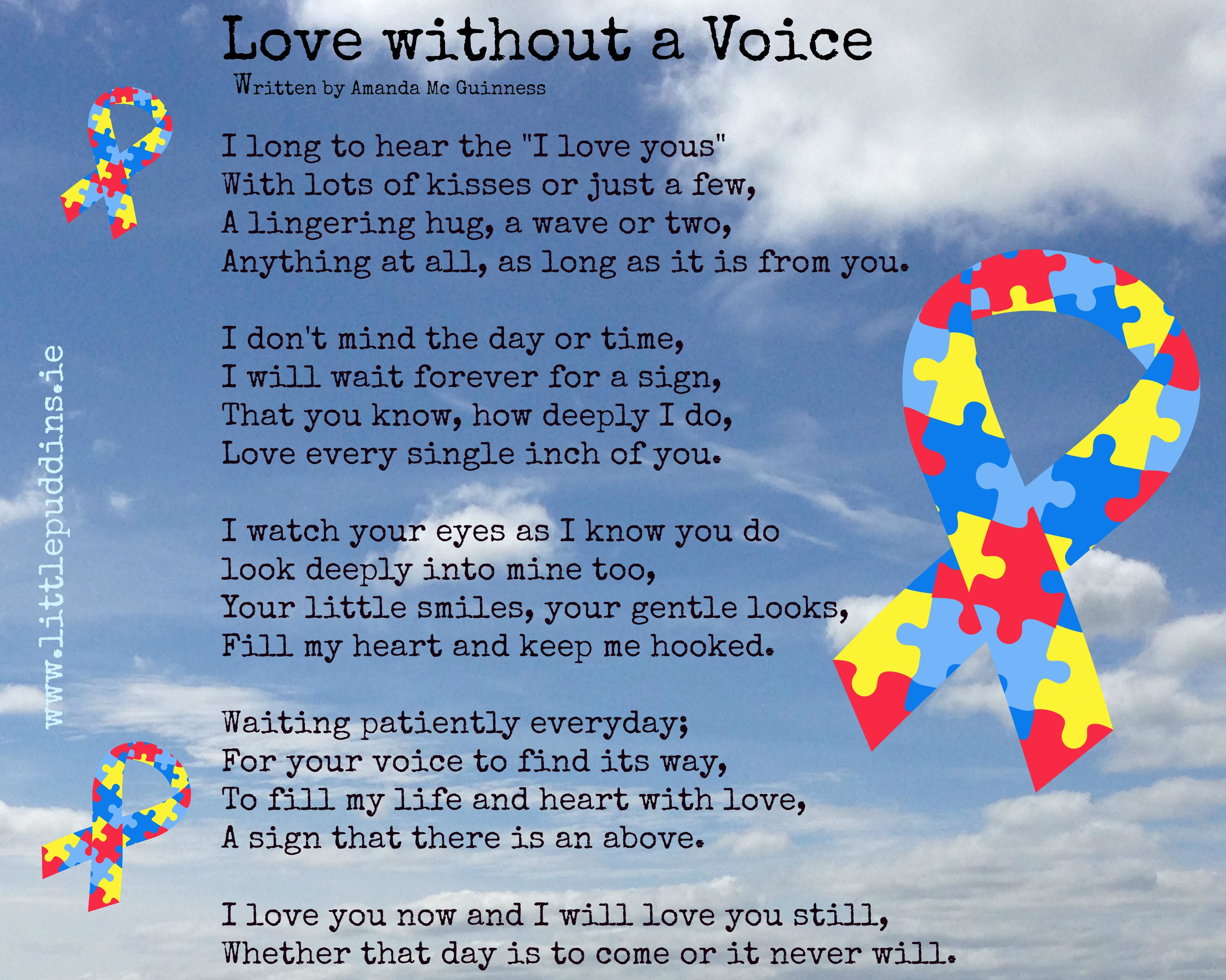 Love Without A Voice The Little Puddins Blog