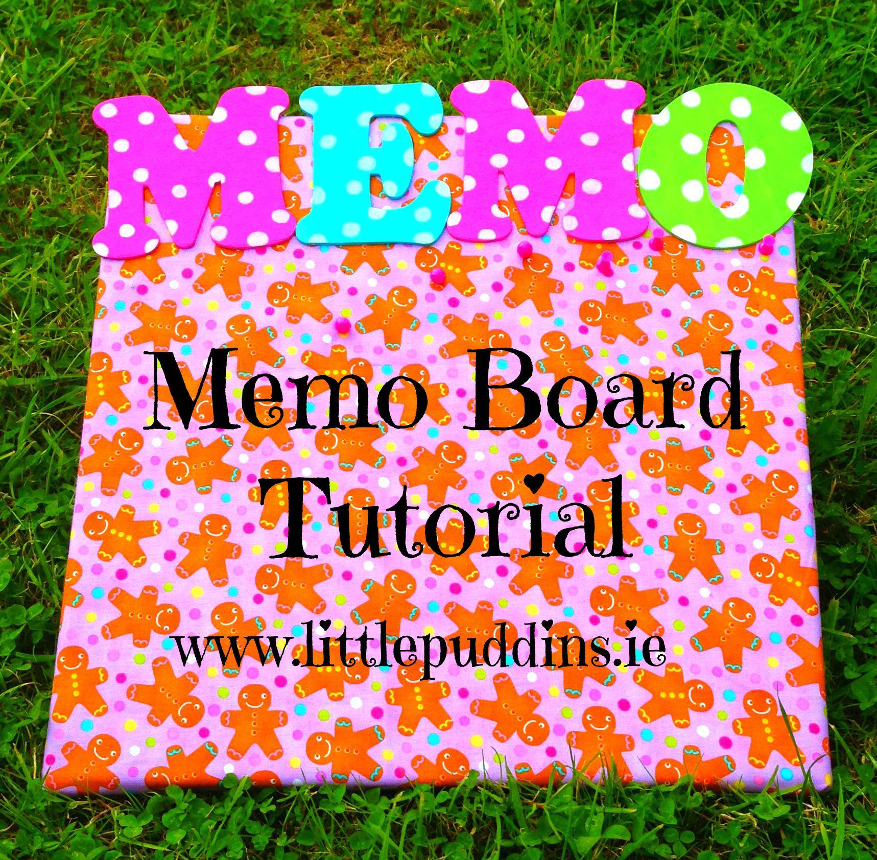 Memo Board Tutorial