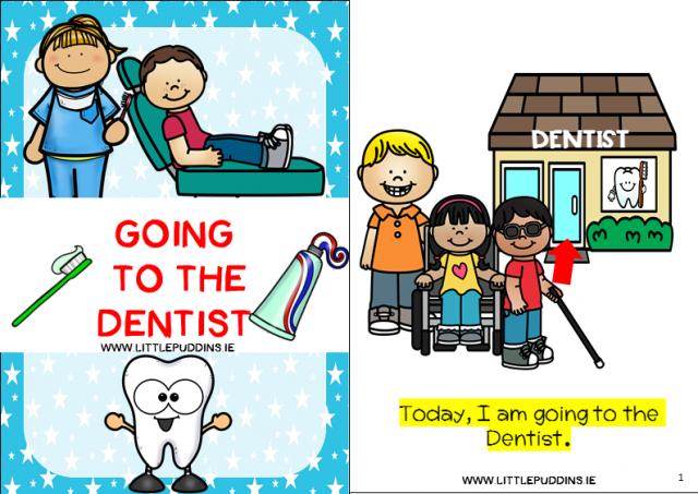 photograph about Free Printable Social Stories for Preschoolers known as Free of charge Social Tale A Dentist Take a look at Minor Puddins No cost