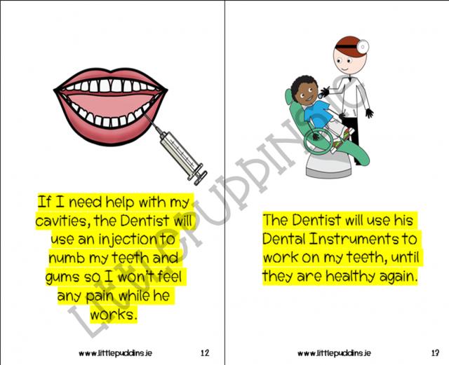 A Free social story A Dentist Visit