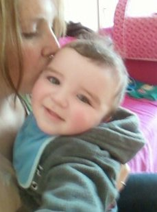 Me and baby Conor.x