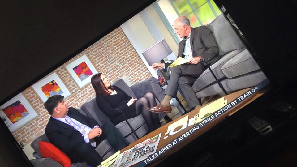 Live on Ireland AM