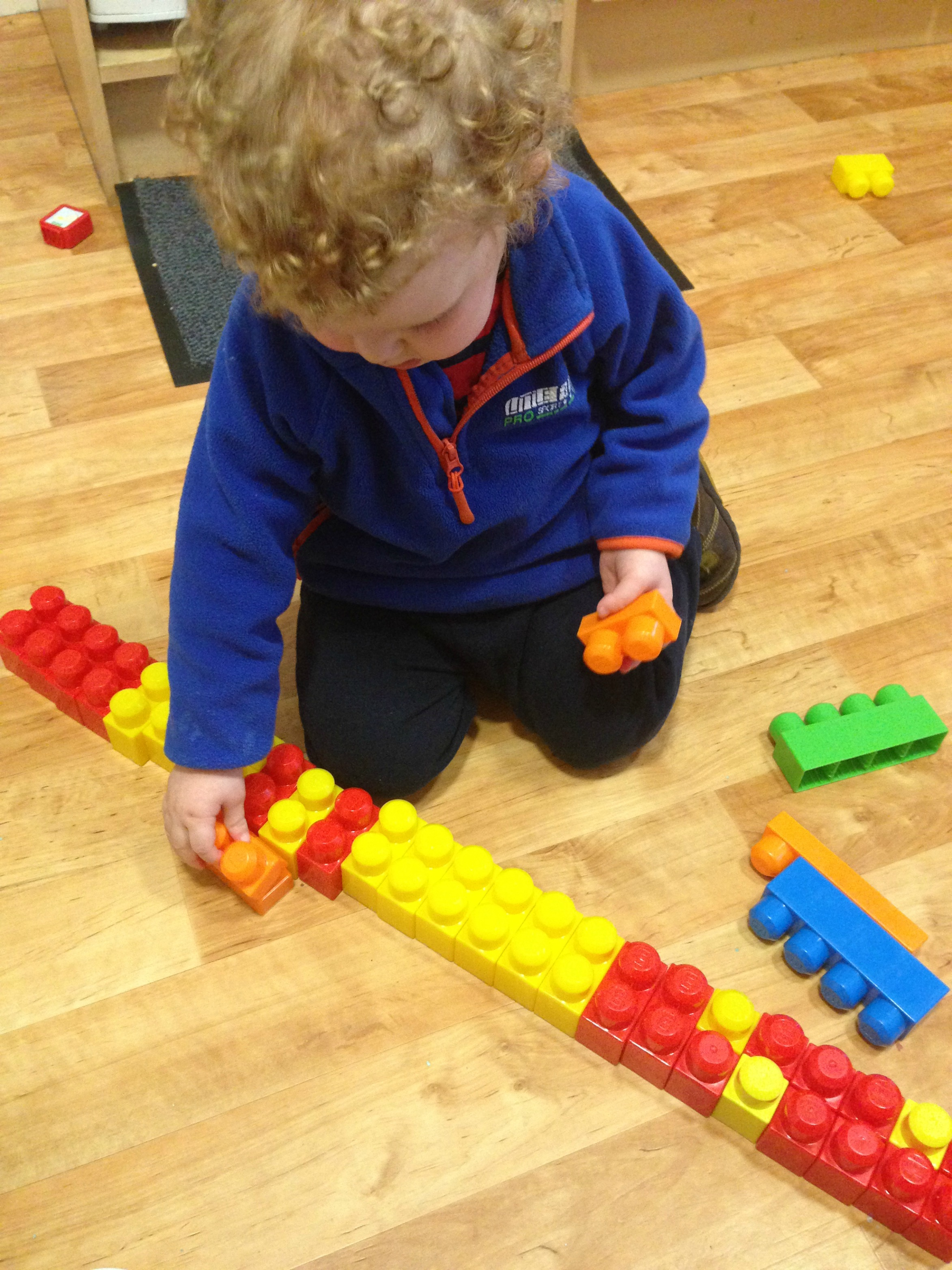 Jack and his favorite blocks.x