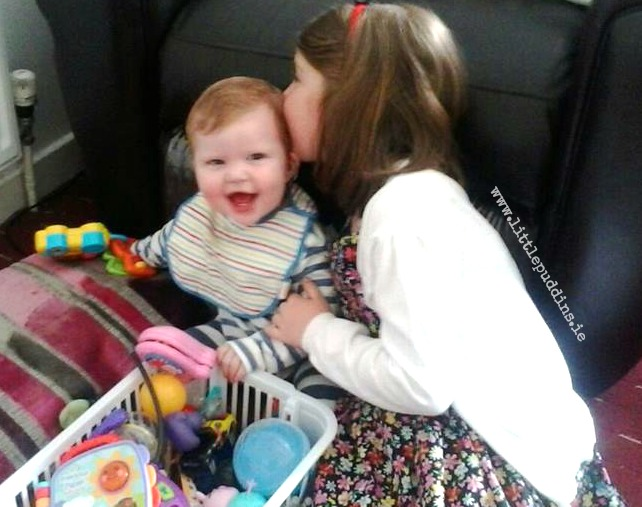 Hailey and her little best friend baby Jack.x
