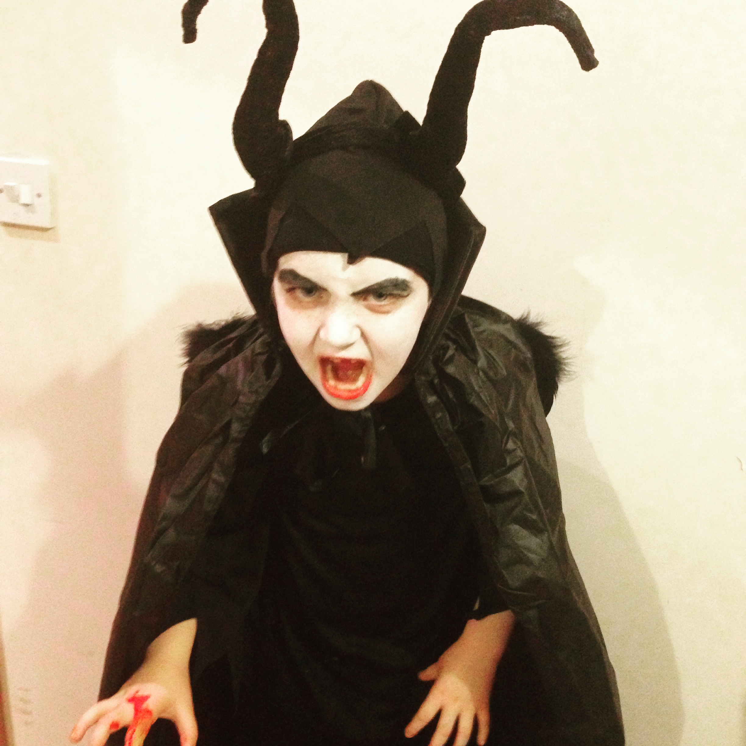 Hailey as Maleficient