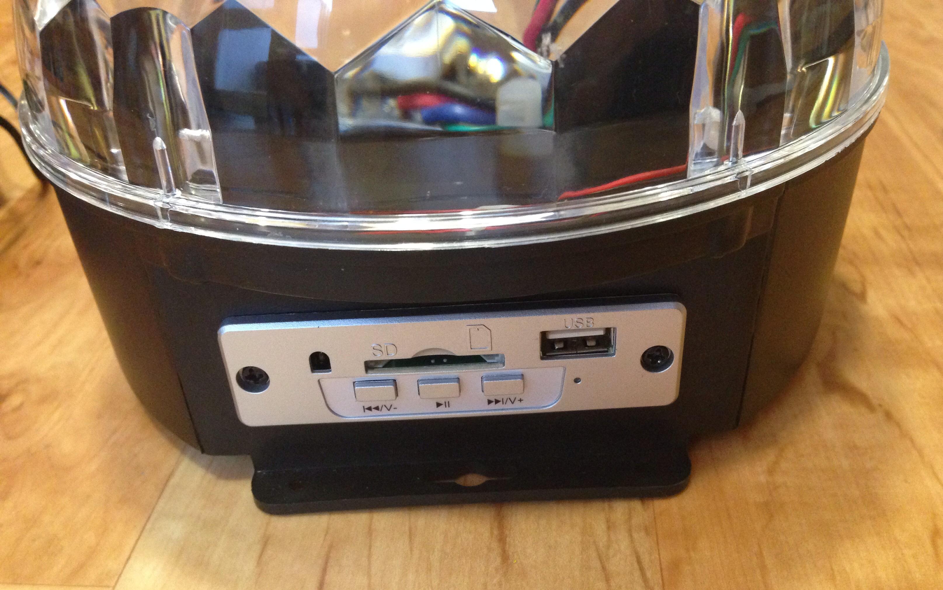 USB/SD Card Port