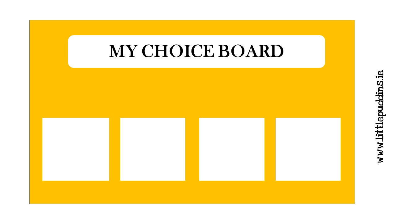 My Choice Board
