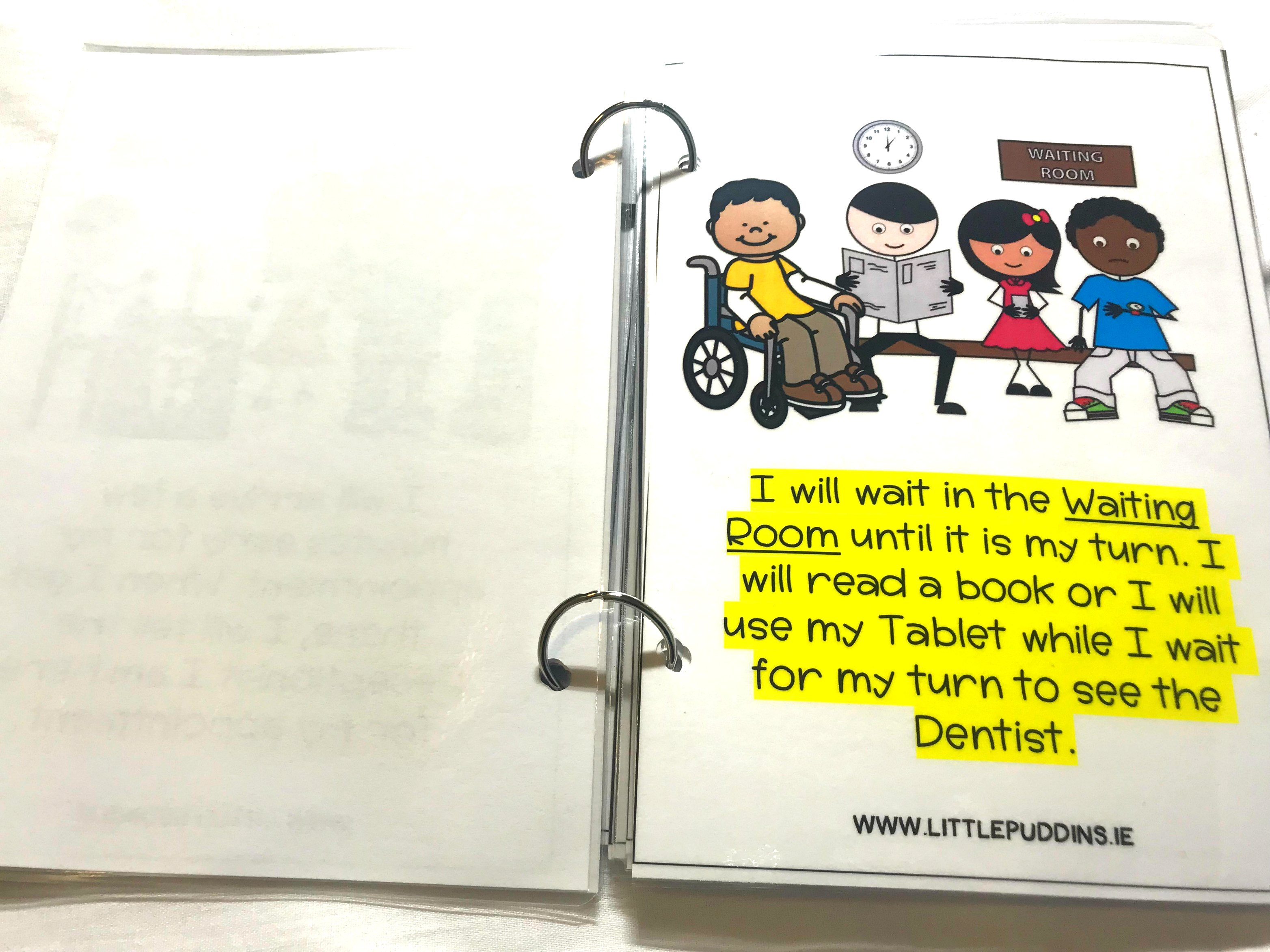 Dentist Visit Social Story