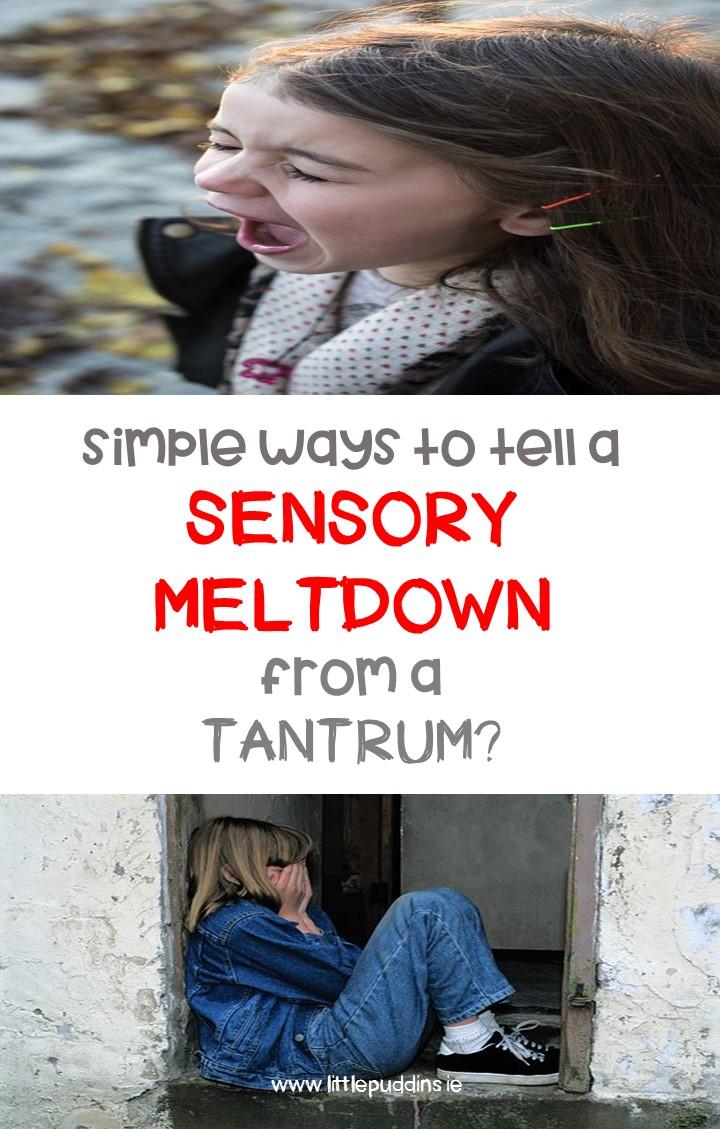 Sensory Meltdown
