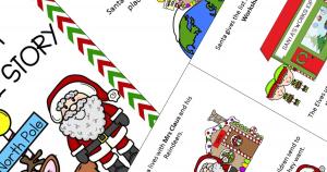 Free Santa Social Story