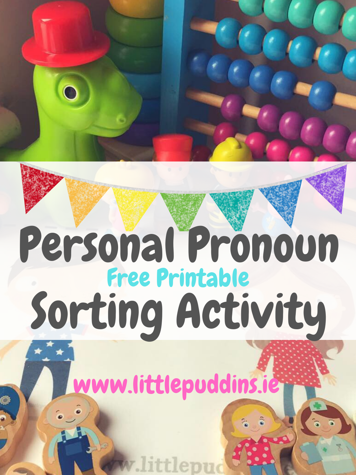 Personal Pronouns Sorting  Activity Free Printable