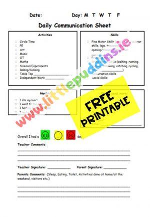 free printable Communication PDF